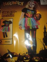 2-pieces skeleton costume / NEW in Ramstein, Germany