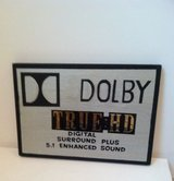 Wooden Dolby Sign in Naperville, Illinois