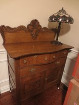 Antique Tiger Oak Buffet or Dresser in Bartlett, Illinois