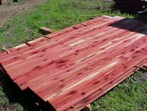 live edge walnut/ cherry ( cedar air drying) ( live edge cherry / cedar slabwood) in Fort Campbell, Kentucky