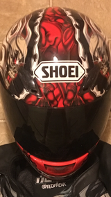 Motorcycle helmet in DeRidder, Louisiana