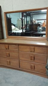 Dresser and mirror wood in Houston, Texas