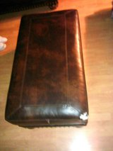 Leather Ottoman in Fort Sam Houston, Texas