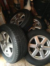 OEM VOLVO set of 4 Rims with Tires! in Sandwich, Illinois