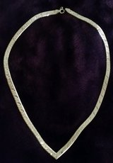 Herring Bone Silver Beautiful necklace in Alamogordo, New Mexico