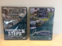 DIY POND BUILDING DVD'S ( 2-Pack ) in Lockport, Illinois