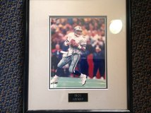 Troy aikman singed pic in Alvin, Texas
