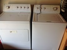 Whirlpool washer and dryer set in Alvin, Texas