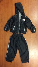 3T Pittsburgh Steelers hooded jacket and pants in Fort Campbell, Kentucky