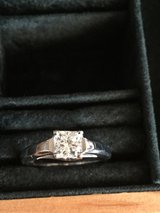.72 ct Princess Cut Ingagement Ring with dimond in band (one of a kind) in Pleasant View, Tennessee