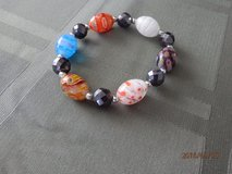 Multi Color Bead Stretch Bracelet in Joliet, Illinois