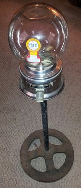 Antique FORD gumball machine and stand in Conroe, Texas