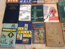 Vintage Boy Scout books and accessories in Fort Leavenworth, Kansas
