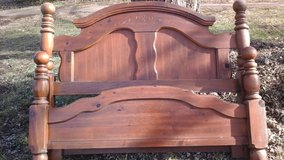 Queen Wood Bed Frame in Fort Campbell, Kentucky