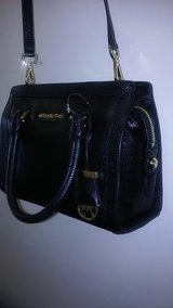 NWT MICHEAL KORS COLLINS SMALL SATCHEL IN BLACK LEATHER in Birmingham, Alabama