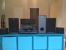 Sony Surround Sound and 5 disc CD player. Very good condition. in Katy, Texas