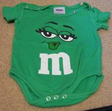 INFANT ONESIE, M&M, MS. M in Lakenheath, UK