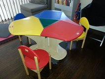 Lego Three-Seat Playtable in Travis AFB, California