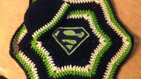 Crochet Sports Team Inspired Blanket and Cap Set in Fort Lewis, Washington