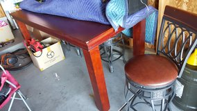 cherry wood dining table in Fort Irwin, California
