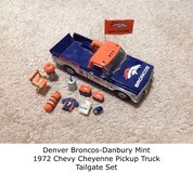 Denver Broncos Collectors Tailgate Set in Shorewood, Illinois