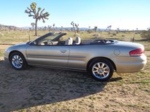 2004 Chrysler Limited Convertible in Yucca Valley, California