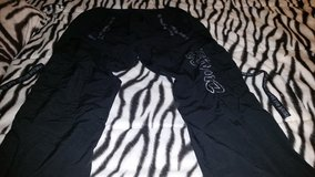 Ladies size Large black Zumba pants in Savannah, Georgia