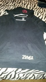 Ladies large black Zumba Hoodie in Savannah, Georgia