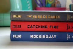 The Hunger Games Trilogy 3 books in St. Charles, Illinois