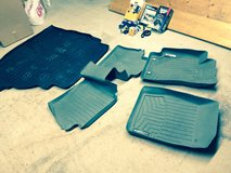 2002-2006 Toyota Camry WeatherTech front/rear molded floor mats w/trunk liner and window deflect... in Baumholder, GE
