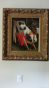 Oil Painting on Canvas that is a collector item and it is beautiful, especially if you are a dog... in Houston, Texas