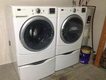 Maytag W/D Set on Pedestal Stands in San Angelo, Texas