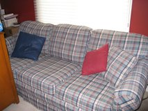 Plaid Couch in Moody AFB, Georgia
