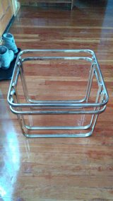 sturdy end table frame needs glass in Alamogordo, New Mexico