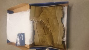 New boots for military special sale today in Camp Pendleton, California