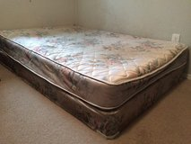 Full Sized Mattress and Box Spring in Fort Lewis, Washington
