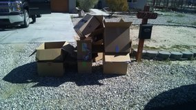 Free moving boxes in 29 Palms, California