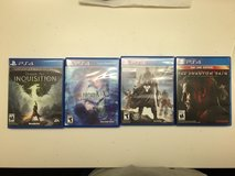 PS4 Games for Sale. in Miramar, California
