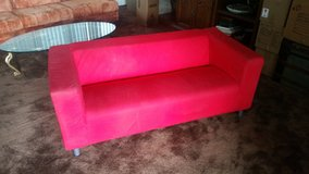 Ikea couch, black or red in Fort Irwin, California