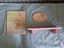 Baby's Room Wall Hanging and Shelf in Kankakee, Illinois