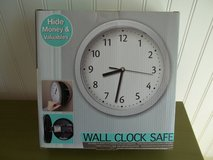 Wall Clock Safe New in Box in 29 Palms, California