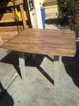 Dining table in Fort Irwin, California