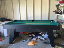pool table in San Clemente, California