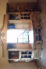 Rustic Western Entertainment Center in Cleveland, Texas
