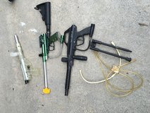 Paint ball guns with accessories in Beaufort, South Carolina