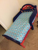 "Kids ""cars"" toddler bed and mattress in El Paso, Texas"