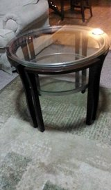 Two Identical Side Tables in Naperville, Illinois