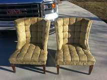 Vintage chairs in Fort Campbell, Kentucky