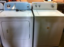 Matching Admiral Washer and Dryer Set (Super Capacity) in Leesville, Louisiana