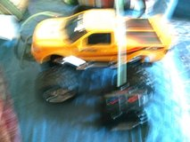 Remote control toy truck in Alamogordo, New Mexico
